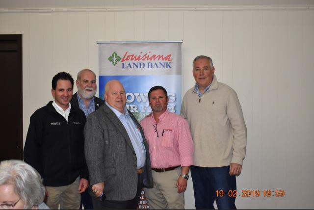 Louisiana Land Bank Helps Sponsor 2019 Annual Meeting of the Teche Growers Association