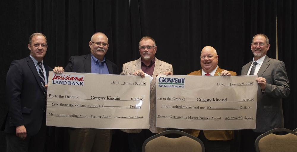 Gregory Kincaid, Outstanding Master Farmer Award